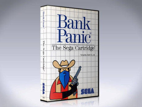 Bank Panic Sega Master System REPLACEMENT GAME Case Or Cover