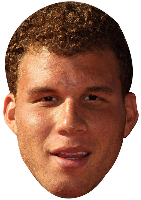 BLAKE GRIFFIN JB - Basketball Star Fancy Dress Cardboard Celebrity Party Stag Birthday Idea Fancy Dress Face mask