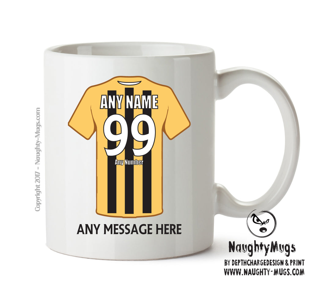 Boston United INSPIRED Football Team Mug Personalised Birthday Age And Name