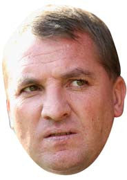 Brendan Rogers FOOTBALL 2018 Celebrity Face Mask FANCY DRESS HEN BIRTHDAY PARTY FUN STAG DO HEN