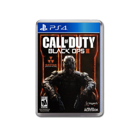Call Of Duty Black Ops Ps4 Game Inspired Retro Gaming Magnet