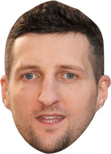 Carl Froch BOXER Celebrity Face Mask FANCY DRESS HEN BIRTHDAY PARTY FUN STAG DO HEN