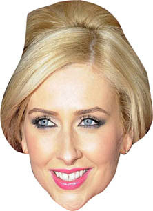 Carmel Mcqueen Hollyoaks Face Mask TV STAR Celebrity Face Mask FANCY DRESS HEN BIRTHDAY PARTY FUN STAG DO