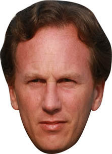 Christian Horner FORMULA 1 Celebrity Face Mask FANCY DRESS HEN BIRTHDAY PARTY FUN STAG DO HEN