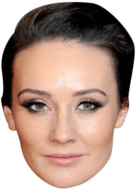 CLAIRE COOPER JB - Hollyoaks Fancy Dress Cardboard Celebrity Party mask