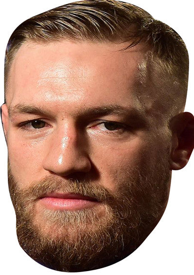 Connor Mcgregor UFC SPORTS Celebrity Face Mask FANCY DRESS HEN BIRTHDAY PARTY FUN STAG DO HEN