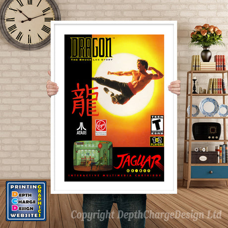 DRAGON BRUCE LEE STORY JAGUAR CD