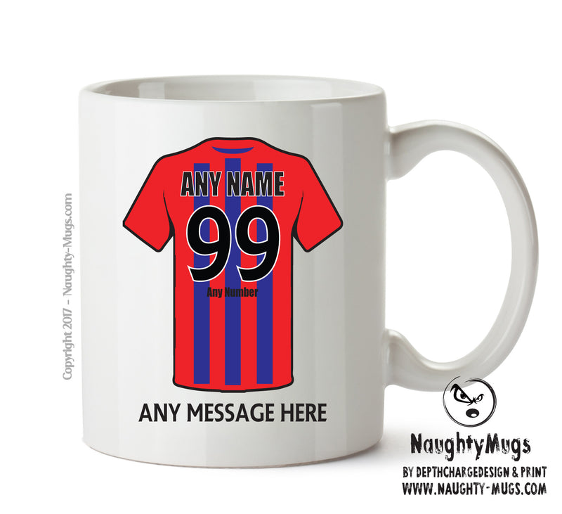 Dagenham And Redbridge INSPIRED Football Team Mug Personalised Birthday Age And Name