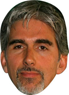 Damon Hill NOW FORMULA 1 Celebrity Face Mask FANCY DRESS HEN BIRTHDAY PARTY FUN STAG DO HEN