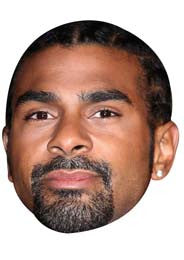 David Haye Face Mask Celebrity Face Mask FANCY DRESS BIRTHDAY PARTY FUN STAG DO HEN