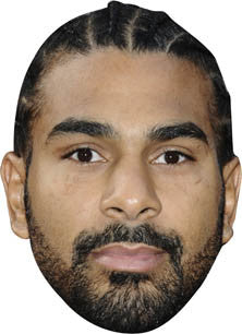 David Haye BOXER Celebrity Face Mask FANCY DRESS HEN BIRTHDAY PARTY FUN STAG DO HEN
