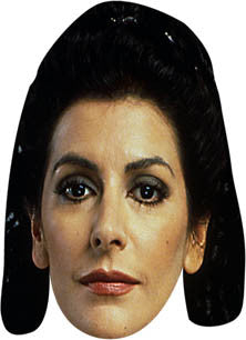 Deanna Troi Star Trek Face Mask