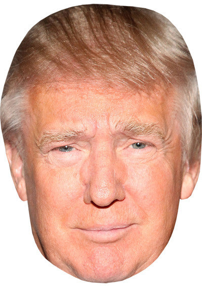 Donald Trump 2 Celebrity Face Mask FANCY DRESS HEN BIRTHDAY PARTY FUN STAG DO HEN