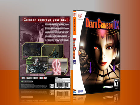 Sega Dreamcast Dc REPLACEMENT GAME CASE for Deathcrimsonox