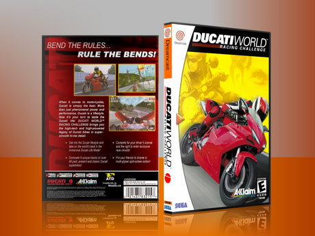 Sega Dreamcast Dc REPLACEMENT GAME CASE for Ducati