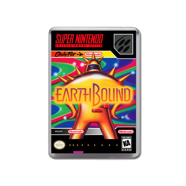 Earthbound - SNES Inspired Game Retro Gaming Magnet