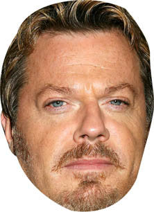 Eddie Izzard Celebrity Comedian Face Mask FANCY DRESS BIRTHDAY PARTY FUN STAG HEN
