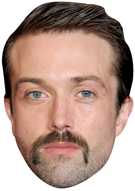 EMMETT J SCANLAN JB - Hollyoaks Fancy Dress Cardboard Celebrity Party mask