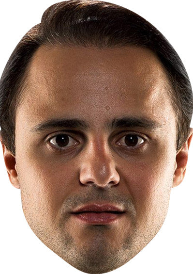 FELIPE MASSA Celebrity Face Mask FANCY DRESS HEN BIRTHDAY PARTY FUN STAG DO HEN