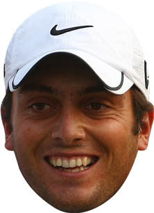 Francesco Molinari GOLF 2018 Celebrity Face Mask FANCY DRESS HEN BIRTHDAY PARTY FUN STAG DO HEN