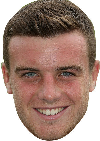 George Ford Rugby 2018 Celebrity Face Mask FANCY DRESS HEN BIRTHDAY PARTY FUN STAG DO HEN