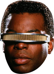 Geordi La Forge Star Trek Face Mask