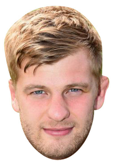 George Kruis Rugby 2018 Celebrity Face Mask FANCY DRESS HEN BIRTHDAY PARTY FUN STAG DO HEN