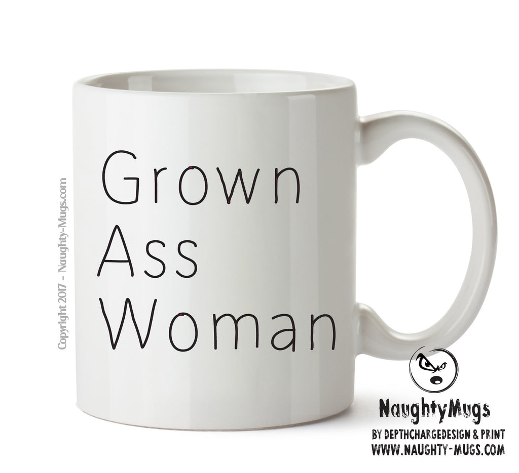 Grown Ass Woman - Adult Mug