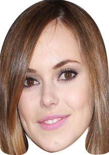 Hannah Tointon Hollyoaks Face Mask TV STAR Celebrity Face Mask FANCY DRESS HEN BIRTHDAY PARTY FUN STAG DO