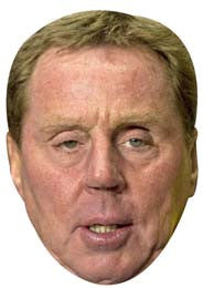 Harry Redknapp FOOTBALL 2018 Celebrity Face Mask FANCY DRESS HEN BIRTHDAY PARTY FUN STAG DO HEN