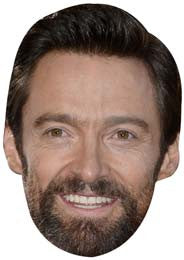 Hugh Jackman Face Mask Celebrity FANCY DRESS HEN BIRTHDAY PARTY FUN STAG DO HEN