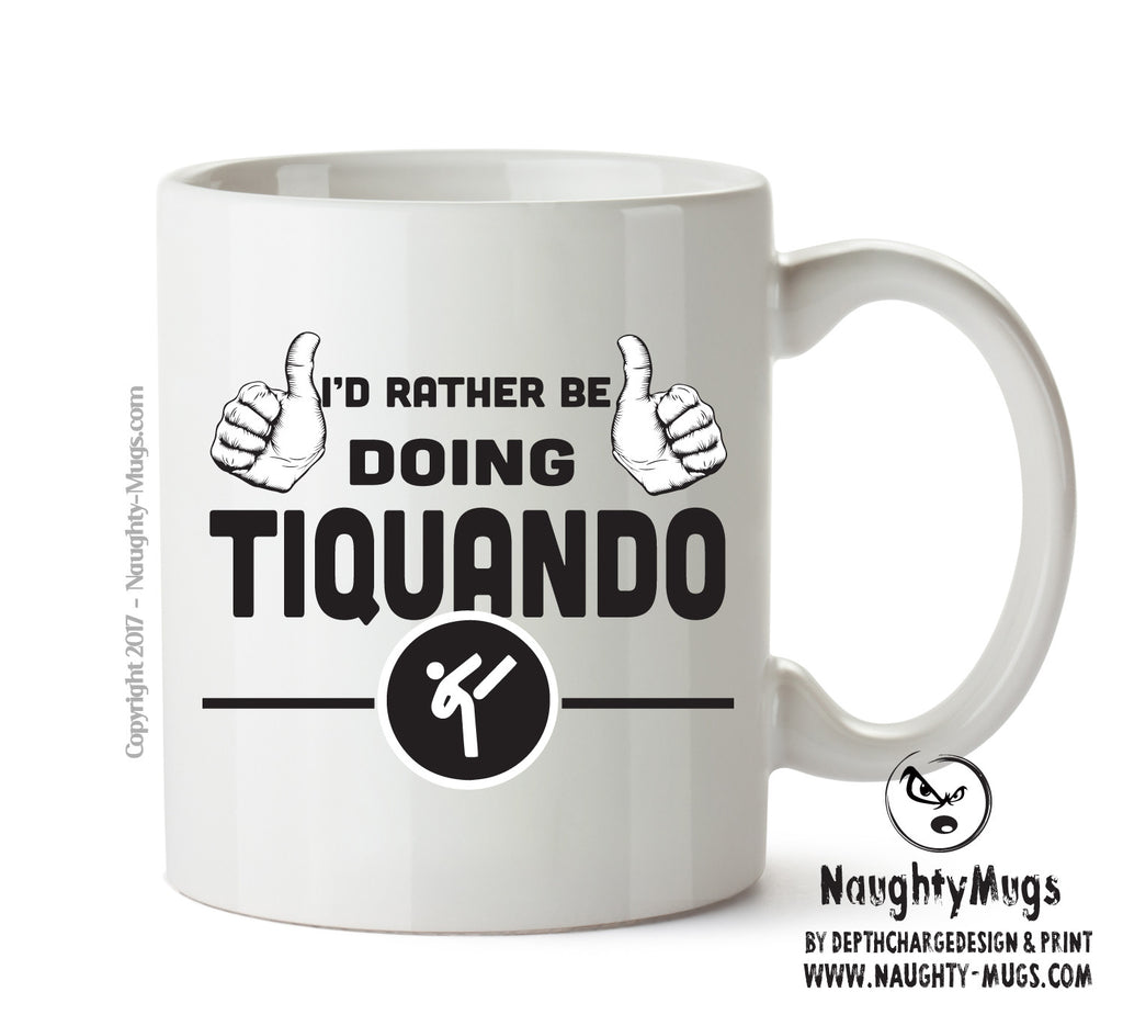 I'd Rather Be Doing Tiquando Personalised FUNNY OCCUPATION RUDE ADULT OFFICE MUG