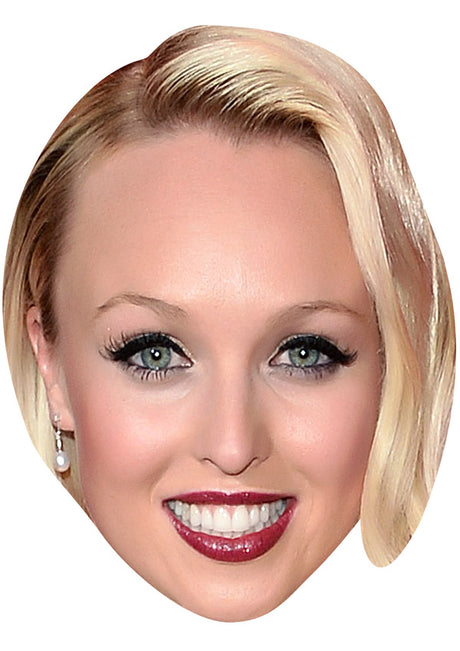 JORGIE PORTER JB - Hollyoaks Fancy Dress Cardboard Celebrity Party mask