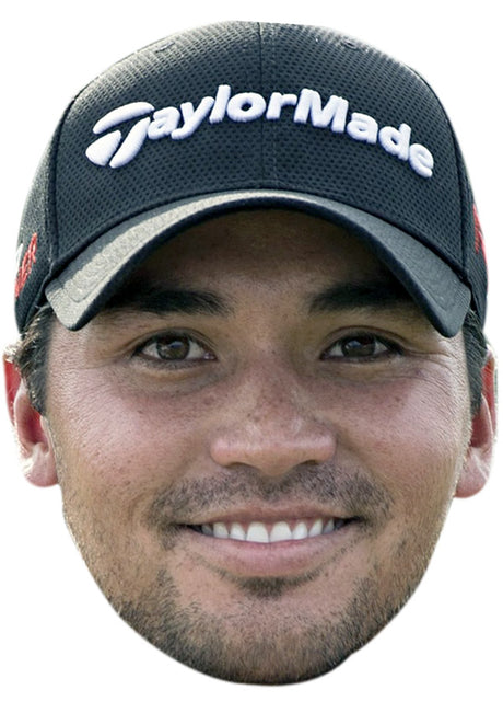 JASON DAY JB - Golf Fancy Dress Cardboard Celebrity Party Stag Birthday Idea Fancy Dress Face mask