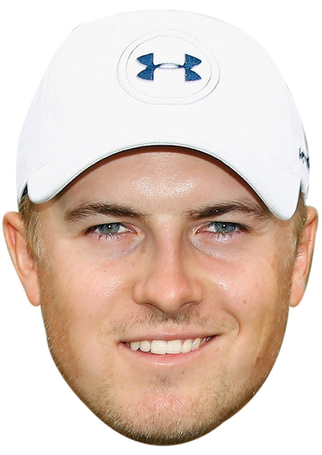 JORDAN SPIETH JB - Golf Fancy Dress Cardboard Celebrity Party Stag Birthday Idea Fancy Dress Face mask