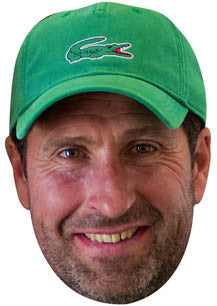 Jose Olazabal GOLF 2018 Celebrity Face Mask FANCY DRESS HEN BIRTHDAY PARTY FUN STAG DO HEN