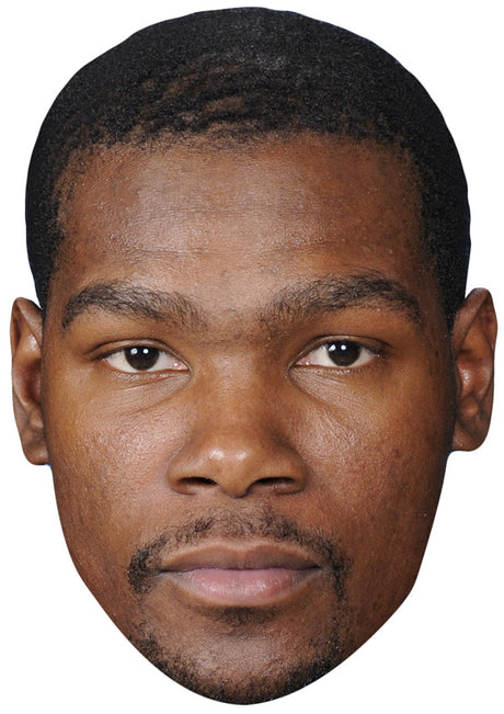 KEVIN DURANT JB - Basketball Star Fancy Dress Cardboard Celebrity Party Stag Birthday Idea Fancy Dress Face mask