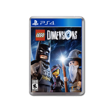 Lego Dimensions Ps4 Game Inspired Retro Gaming Magnet