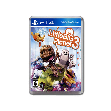 Little Big Planet 3 Ps4 Game Inspired Retro Gaming Magnet