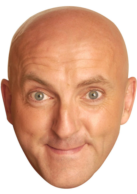 LEE HURST JB - Funny Comedian Fancy Dress Cardboard Celebrity Party mask