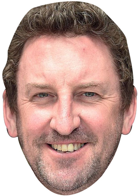 LEE MACK JB - Funny Comedian Fancy Dress Cardboard Celebrity Party mask
