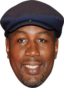 Lennox Lewis BOXER Celebrity Face Mask FANCY DRESS HEN BIRTHDAY PARTY FUN STAG DO HEN