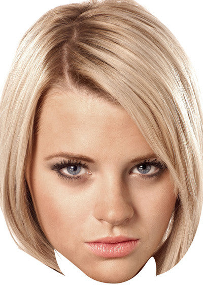 Lucy Beale 2018 Celebrity Face Mask FANCY DRESS HEN BIRTHDAY PARTY FUN STAG DO HEN