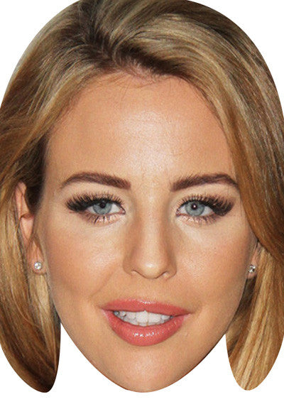 Lydia Rose Bright TOWIE Celebrity Face Mask FANCY DRESS HEN BIRTHDAY PARTY FUN STAG DO HEN
