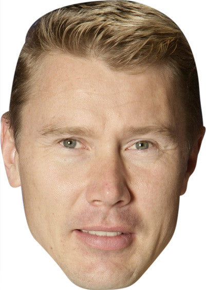 MIKA HAKKINEN Celebrity Face Mask FANCY DRESS HEN BIRTHDAY PARTY FUN STAG DO HEN Party Mask