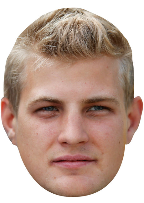 MARCUS ERICSSON JB - Formula 1 Driver Fancy Dress Cardboard Celebrity Party Stag Birthday Idea Fancy Dress Face mask