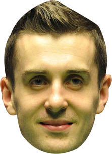 Mark Selby SNOOKER Celebrity Face Mask FANCY DRESS HEN BIRTHDAY PARTY FUN STAG DO HEN