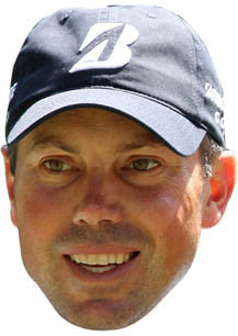Matt Kuchar GOLF 2018 Celebrity Face Mask FANCY DRESS HEN BIRTHDAY PARTY FUN STAG DO HEN