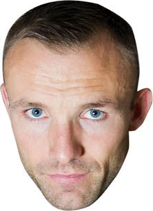 Mikkel Kessler BOXER Celebrity Face Mask FANCY DRESS HEN BIRTHDAY PARTY FUN STAG DO HEN