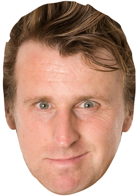 MILTON JONES JB - Funny Comedian Fancy Dress Cardboard Celebrity Party mask